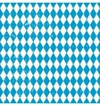 Oktoberfest seamless pattern with rhombus vector image
