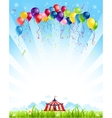 Traveling circus vector image