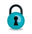 warning secure password system graphic vector image
