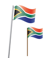 southafrica flag3 vector image