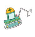 icon crane vector image vector image