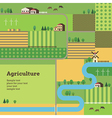 agriculture background vector image