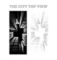 a city vector image