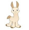 Cartoon Llama Alpaca vector image
