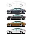 executive car vector image
