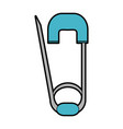 safety pin icon image vector image