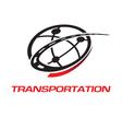 Transport logo vector image