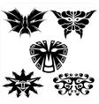 Masks - set vector image