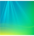 Abstract Background with Rays and Waves vector image