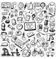 School doodles vector image vector image
