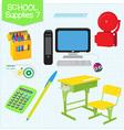 school supplies7 vector image