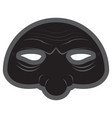 halloween opera mask vector image
