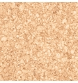 Cork background for your design vector image