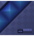 Abstract Dark Business Background vector image vector image
