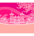 Buddhist Zen Temple vector image
