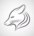 Coyote logo vector image