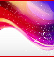 minimal curve liquid spark wave background with vector image