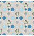 Abstract circles seamless pattern background vector image