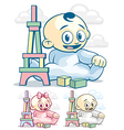 Child Development vector image