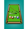 2017 year of billiard balls vector image