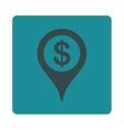Bank location icon vector image