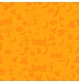 Halloween pattern Easy change colors vector image