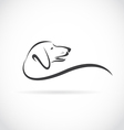 image of an dog Dachshund vector image vector image