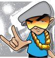 bee boy vector image