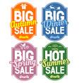 Seasonal sale vector image
