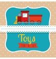 children toys design vector image
