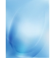 Blue Light Wave Abstract Background EPS 10 vector image