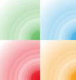 color circle background vector image