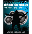 Rock concert wallpaper vector image