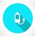 Battery Power Efficiency vector image