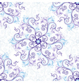 Gentle seamless pattern vector image