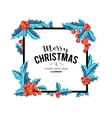 Merry Christmas background art vector image
