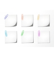 notepad variations vector image