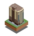 Isometric buildings real estate - city buildings - vector image