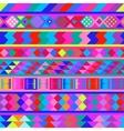Seamless peruvian texture vector image