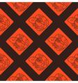 Seamless pattern with Maya hieroglyphs vector image