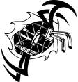 Biomechanical Designs - vector image
