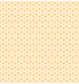 Beige and white abstract seamless pattern vector image