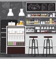 Best coffee shop vector image