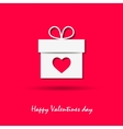 happy valentine day design vector image