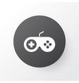 joystick icon symbol premium quality isolated vector image