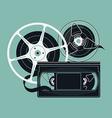 Retro Video Tape Icon vector image