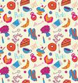 Women things seamless pattern vector image