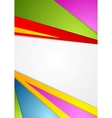 Colorful corporate background vector image vector image