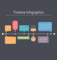 Timeline Elements vector image