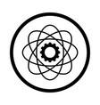 science icon - iconic design vector image
